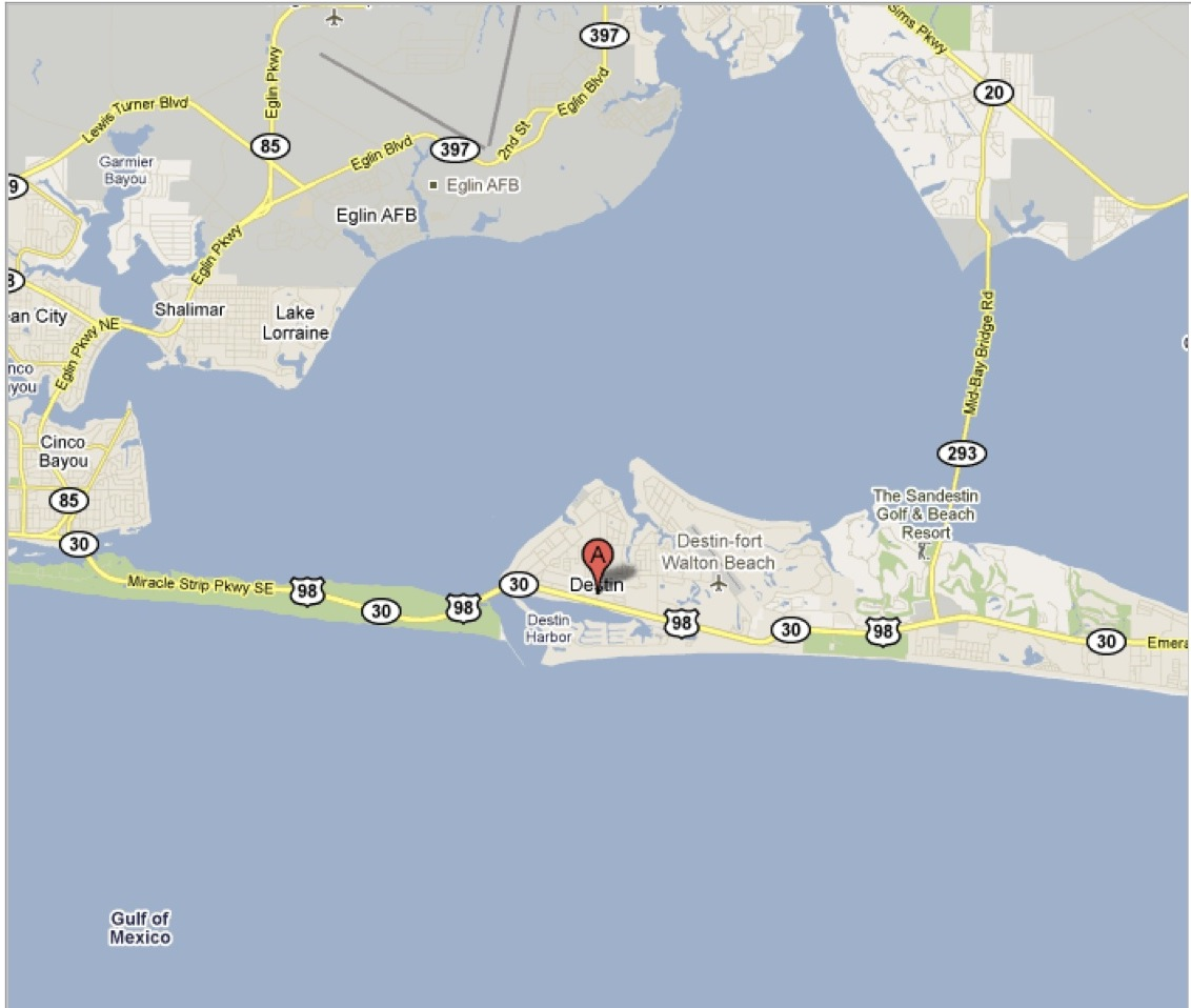 Destin FL Pictures Posters News And Videos On Your Pursuit - Florida map mount dora